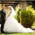 Crescent Gardens bride & groom